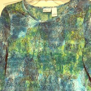Kim Rogers Multi-color shirt